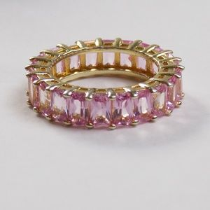 Jewelry - pastel pink baguette eternity band adina's alidia
